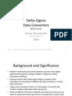Norsworthy Delta-Sigma Course
