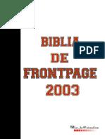 Biblia de FrontPagee 2 0 0 3