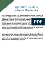 Días festivos en Honduras