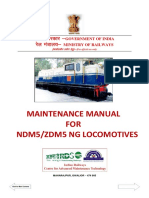 Maintenance Manual for NDM5 ZDM5 NG Locomotive