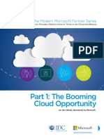 The Booming Cloud Opportunity