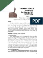 Bali Pemakalah Prof H Rahman Perencanaan Menulis - Copy