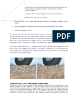Construction of Paved Roads and Unpaved Access Roads Has Been Greatly Benefited by the Use of Geotextiles