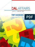 Current Affairs for January Magazine 2016 in English for SSC,Bank, IAS and UPSC Exams