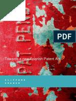 New Spanish Patent Act