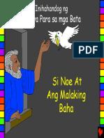 Noah and the Great Flood Tagalog PDA