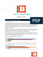 National Poll (September 26, 2016) (Post-Debate Poll)