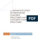 Comparison of RC structure and Composite strucutre based on literature review