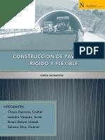 Construcción de Pavimento Rígido y Flexible Ppts