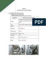 Bab 6 Spesifikasi Alat