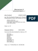 Programm 2