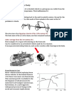 History of the Vehicle Body
