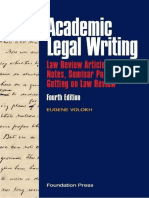 Academic Legal Writing.pdf