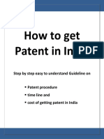 Patent in India Guideline PDF