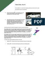 Vehicle Body Part II