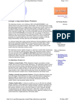 Design Using Inheritance Features 12
