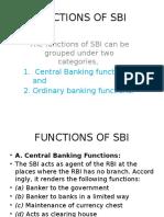 Sbi Functions