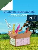 GUIDA ALLA LETTURA DELLE Etichette Nutrizionali on Line