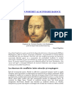 Daniel Magdalen - Hamlet, Un Portret Al Scindării Baroce (I)