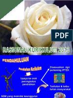 Rasional Kurikulum 2013