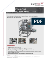 Automatic Post Polishing Machine