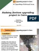 Slum Upgrading Best Practice - Hadayeq Zeinhom
