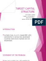 Target Capital Structure