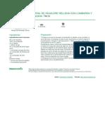 Espiral de Hojaldre Rellena Con Lombarda y Manzana - 2013-12-09