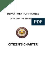 Department of Finance - Citizens Charter