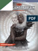 Cloud Giants Bargain