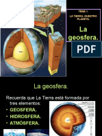 1 La Geosfera