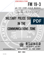 1964 US Army Vietnam War Military Police Support in the Communication Zone 130p