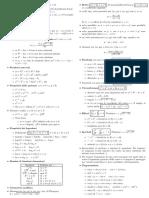 formulario di matematica geometria analitica e trigonometria