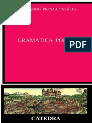 Gramatica Polacapdf Polonia Verbo