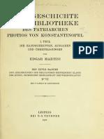 1911 Martini Textgeschichte