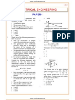 IES OBJ Electrical Engineering 2003 Paper I