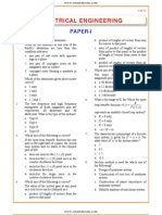IES OBJ Electrical Engineering 2008 Paper I