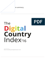 Digital Country Index 16 - Executive Summary