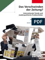 Das Verschwinden Der Zeitung