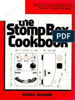 The Stompbox Cookbook - Nicholas Boscorelli - 1999