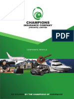 Champions Insurance Company Profile