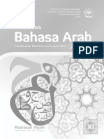 Buku Siswa Kelas 11 MA Bahasa Arab 2015