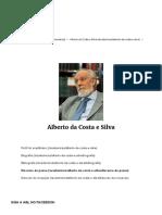 Alberto Da Costa e Silva _ Academia Brasileira de Letras-