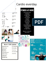 Excercise and fitness