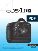 Canon 1dx Manual portugues