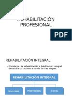 Rehabilitación Profesional