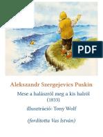 Puskin - Mese a halászról meg a kis Halrol