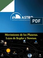 Movimiento de Los Planetas y Leyes de Kepler y Newton