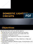Domestic Lighting Circuits