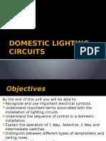 Domestic Lighting Circuits